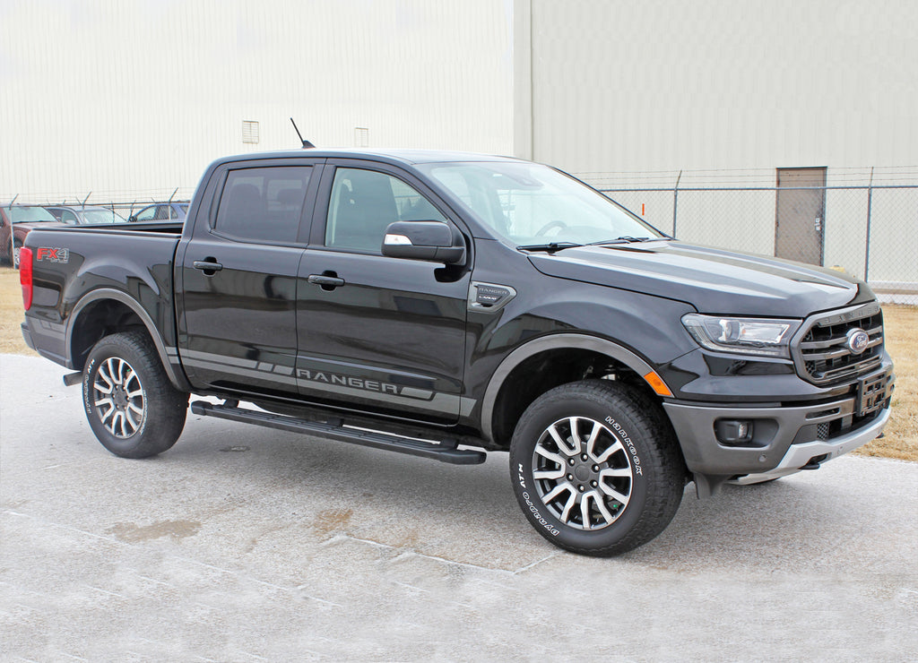 2019 2020 2021 Ford Ranger RAPID Lower Rocker Panel Stripes Door Accent Vinyl Graphic 3M Decal