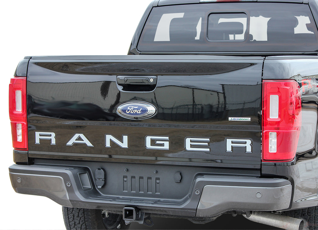 Ford Ranger TAILGATE LETTERS Decals Name Text Vinyl Graphics Kit fits 2019 2020