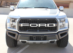 Ford Raptor Grill  Decals VELOCITOR GRILL Front Letter Text Decals Vinyl Graphics Kit 2018 2019 2020
