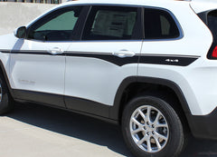 2014 - 2019 Jeep Cherokee Chief Mid Body Line Accent Vinyl Decal Graphic 3M Stripes