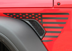 2020 Jeep Gladiator Side Star Decals Patriot Body Vinyl Graphic Stripes Kit