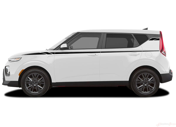 2020 Kia Soul Door Decals Oversoul Side Body Vinyl