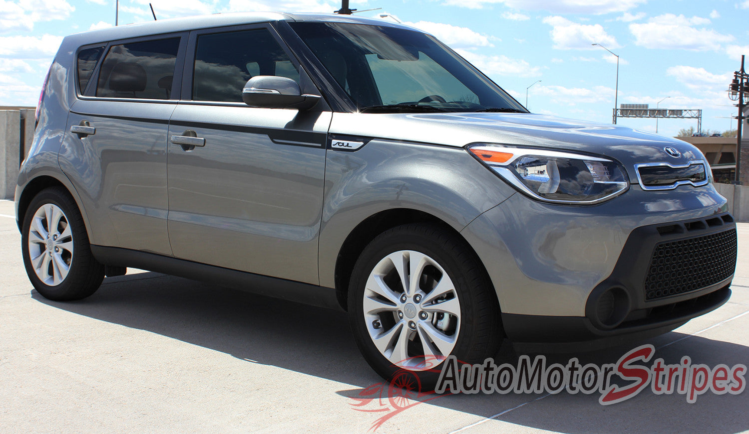 2014 2015 2016 2017 Kia Soul Ensoul Upper Body Accent Side
