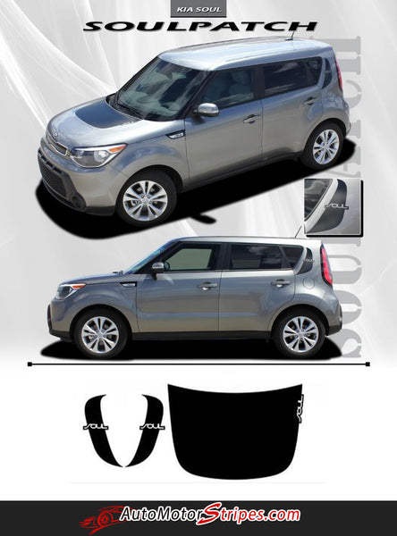 2010 2013 Kia Soul Patch Factory Style Hood And Side
