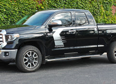 Toyota Tundra Stripes TEMPEST Side Door Upper Body Accent Stripe Striping Graphics Kit