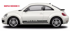 1998-2016 Volkswagen Beetle Rocker Two Lower Rocker Panel Stripes 3M Vinyl Graphics