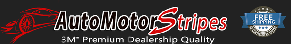 Auto Motor Stripes Decals Vinyl Graphics and 3M Striping Kits