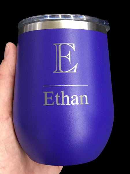 Purple  Insulated 12oz Tumbler
