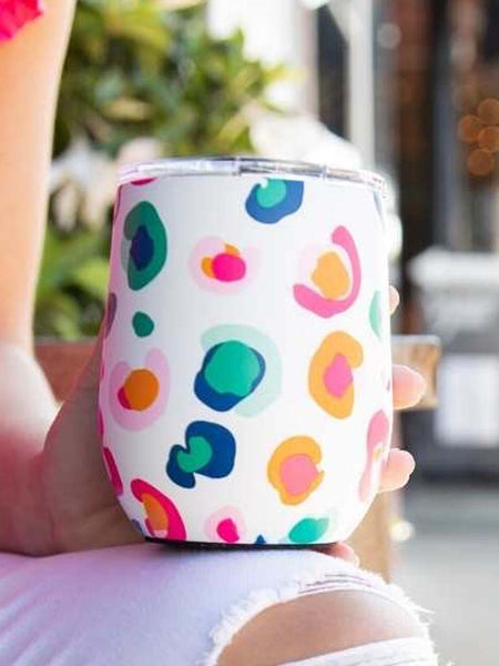 Mary Square Catwalk Confetti Drinking Tumbler