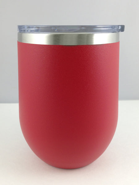 Matte Finish Red Insulated Cup