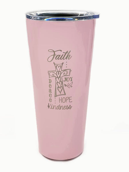 Large Drinking Tumbler - Faith