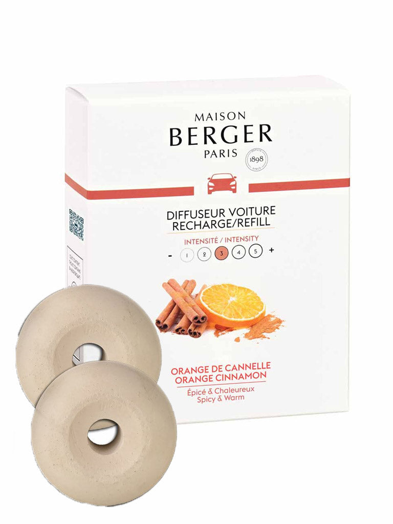 Lampe Berger Car Diffuser Refill - Orange Cinnamon