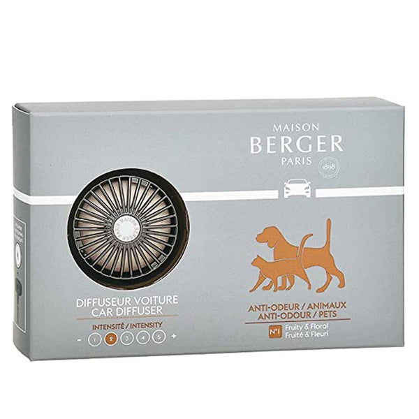 Lampe Berger Refillable Car Diffuser Kit - Anti Pet Odor