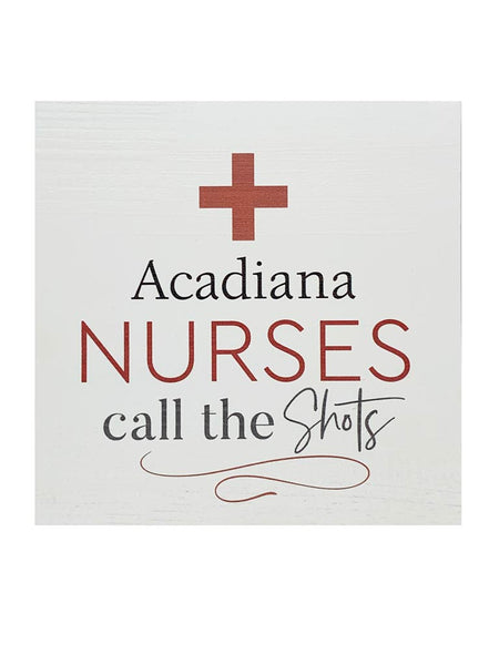 Acadiana Nurses Plaque