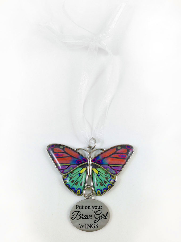 Ornament Butterfly Brave Girl Wings