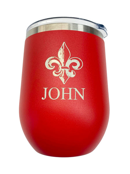 Red  Insulated 12oz Tumbler
