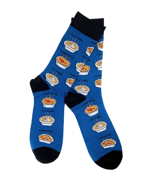 Cajun Food Socks