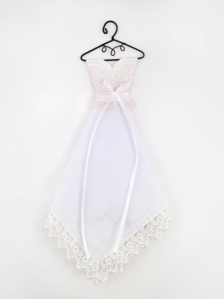 Wedding Dress Handkerchief