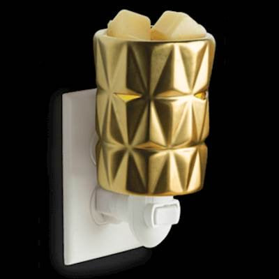 Gold Facets Pluggable Fragrance Warmer