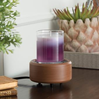Pewter Walnut 2-in-1 Classic Fragrance Warmer