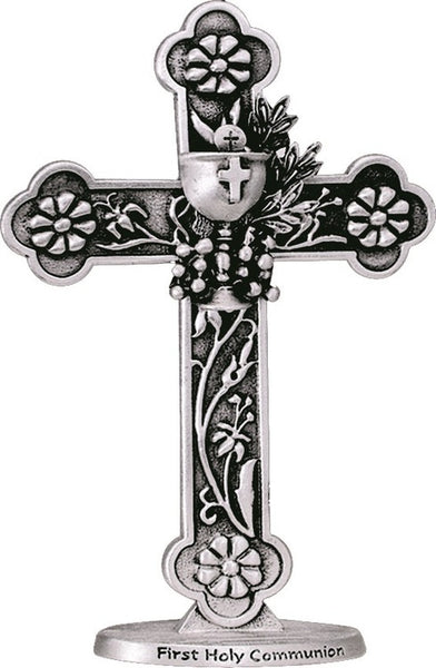 First Communion Pewter Cross