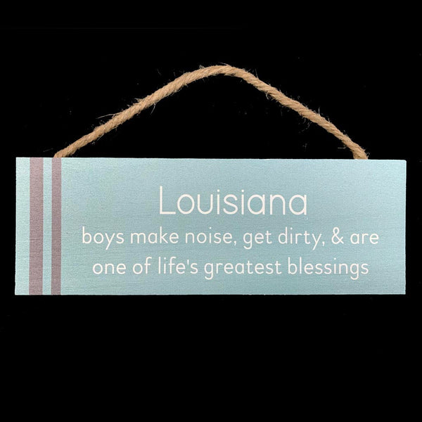 Louisiana Boys Sign