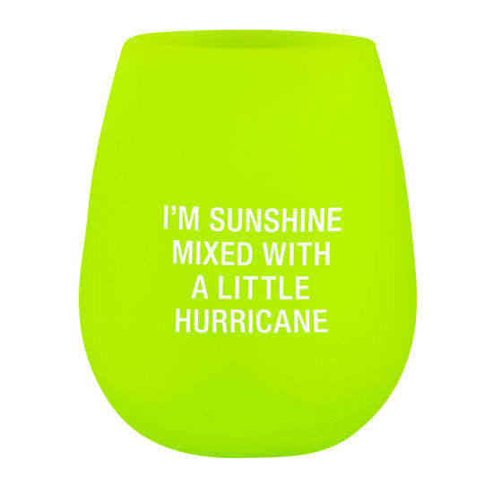 Silicone Wine Glass - Hurricane