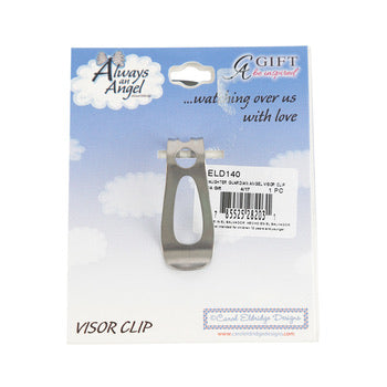 Visor Clip - Please Be Safe Guardian Angel