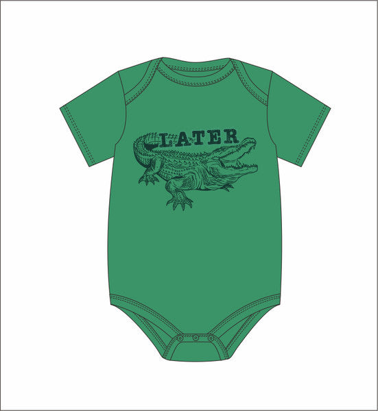 Later Gator Onesie