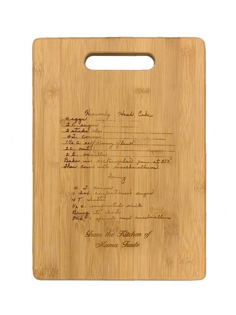 RECIPE Bamboo Cutting Board B
