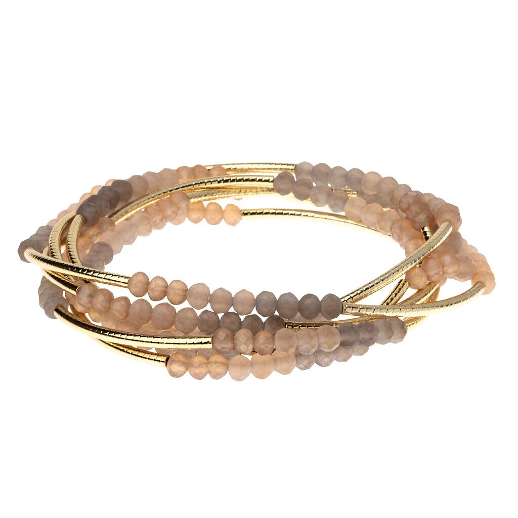 Wrap Bracelet/Necklace Mirage Gold from Scout Curated