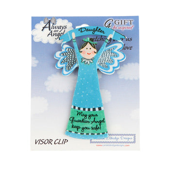 Visor Clip - Daughter Guardian Angel