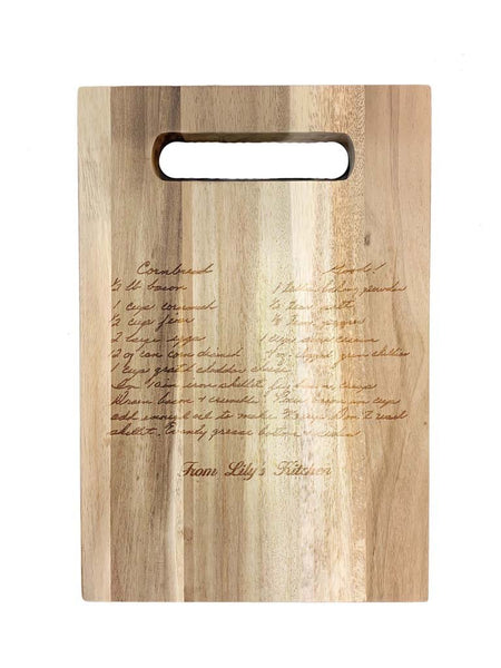 RECIPE Acacia Wood Cutting Board A