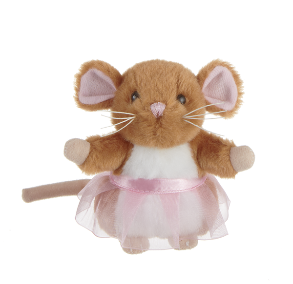Mouse with Tutu - Brown
