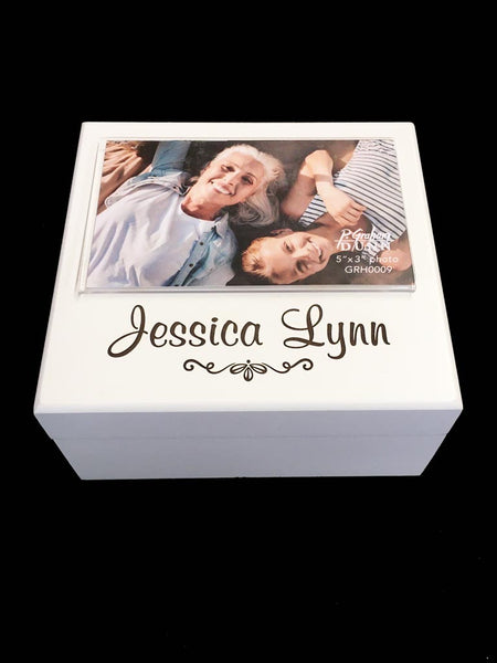 "Box with 3' x 5"" Frame - personalized"