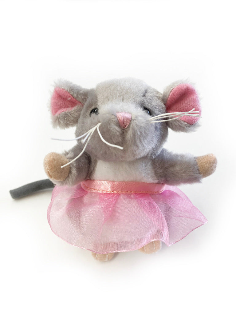 Mouse with Tutu - Grey