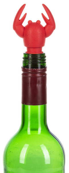 Crawfish Silicone Wine Bottle Stopper