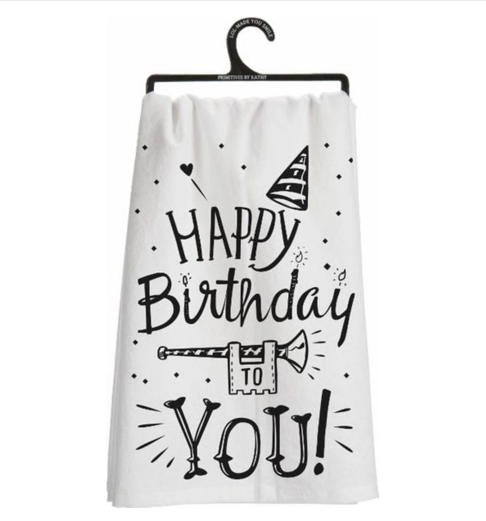 Happy Birthday to You Hand Towel