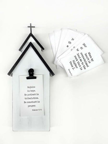 Church Prayer Card Holder