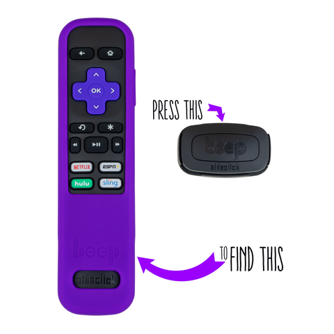 Beep - Protective Cover with Built in Locator for Roku Streaming Players