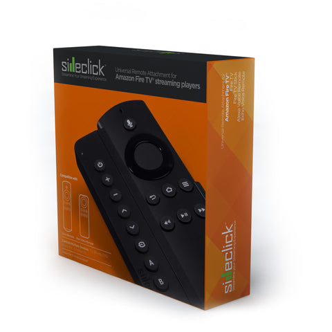 Sideclick Universal Remote Control Attachment for Amazon Fire TV Streaming  Device