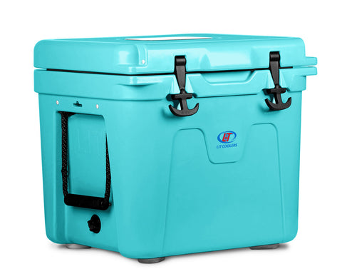 tiffany blue cooler - lit coolers - 5.5 gallon capacity