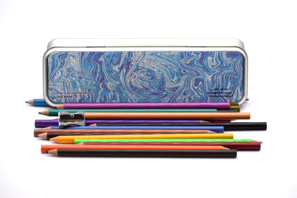 Colored Pencil Case Set