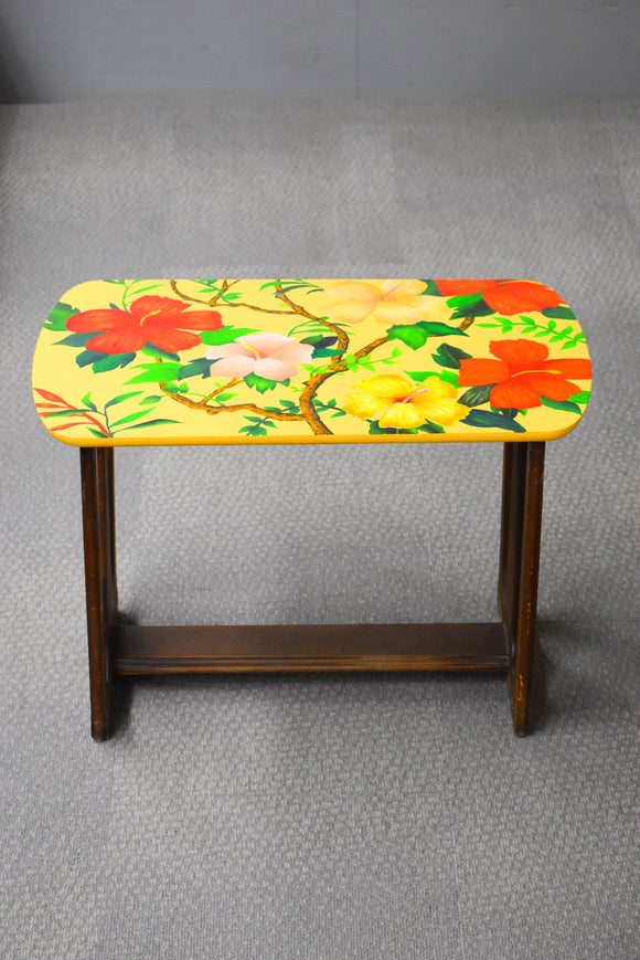 Mid Century Flowers Table