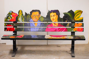 Frida & Diego Bench