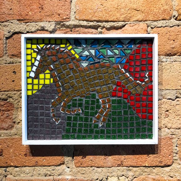 Mosaic Shadow Box