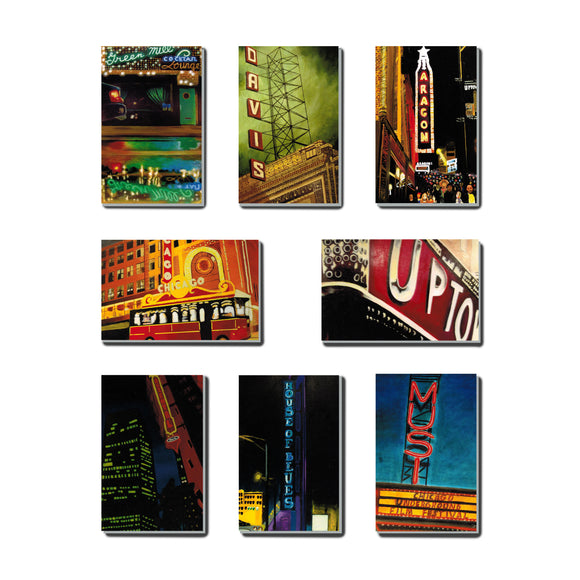 Chicago Theater (Set of 8)