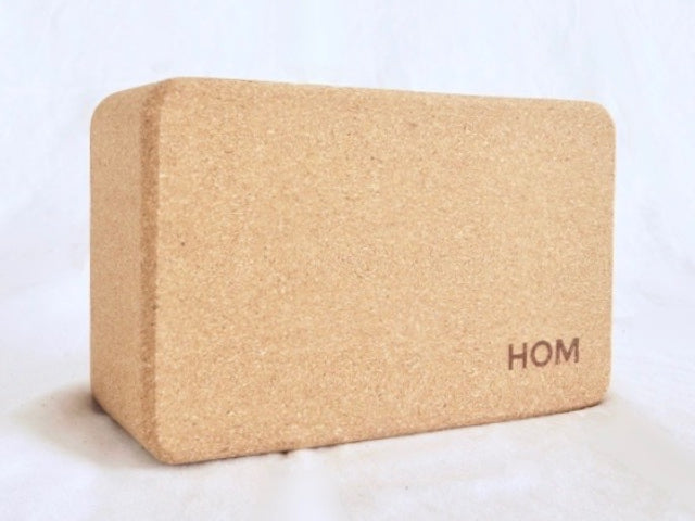 Hom Yoga Cork Block