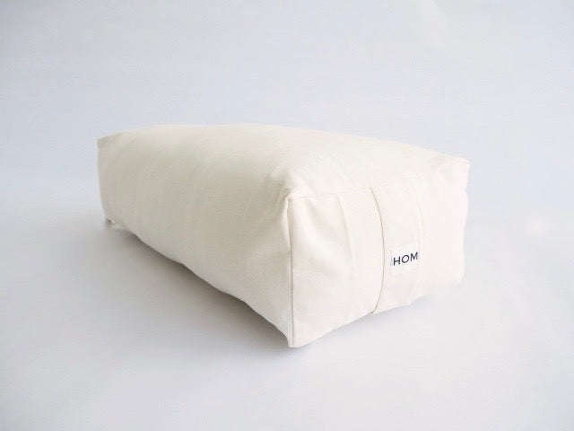 Hom Organic Cotton Rectangular Yoga Bolster