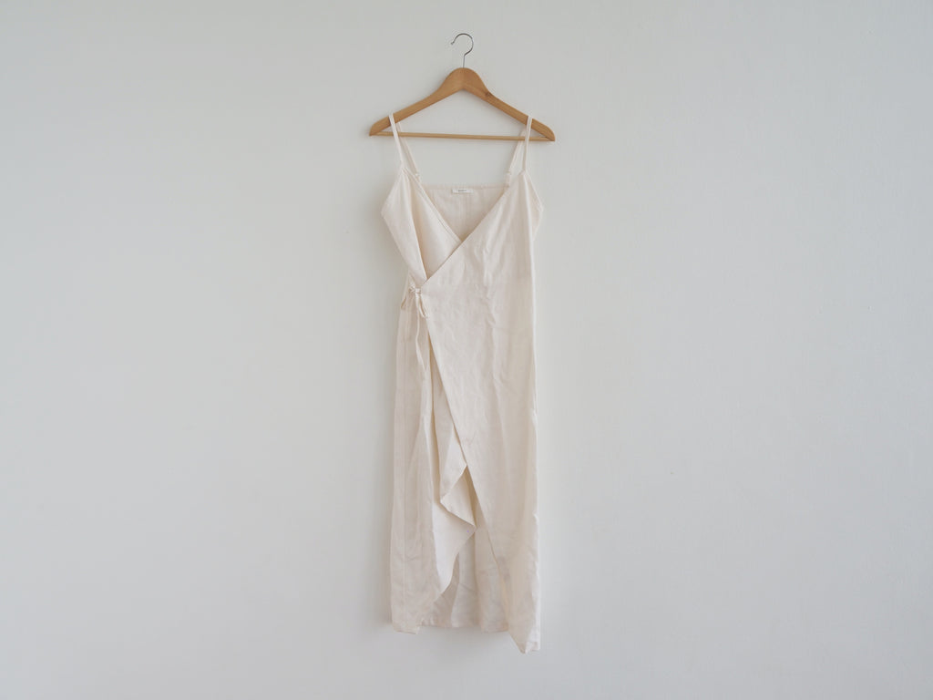 Cloth the Label Linen Wrap Dress